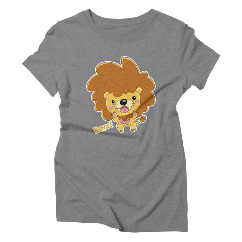 Rarr! Women's Triblend T-shirt by Sigmund Torre