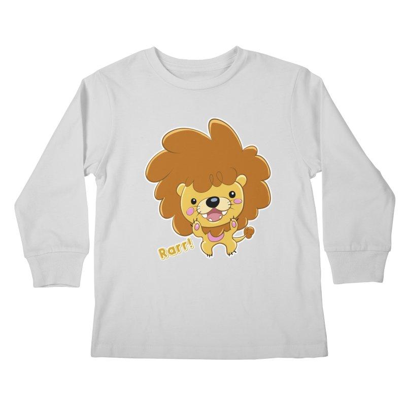 Rarr! Kids Longsleeve T-Shirt by Sigmund Torre