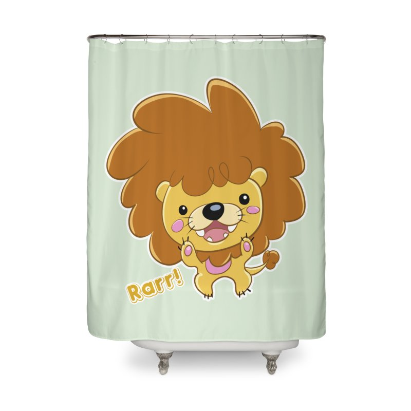 Rarr! Home Shower Curtain by Sigmund Torre