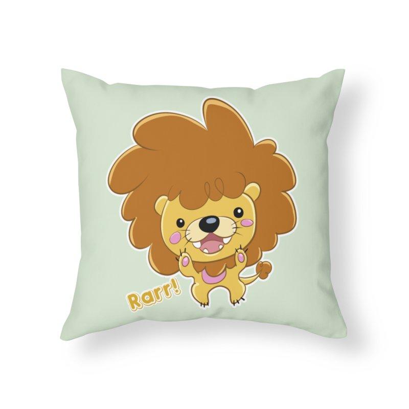 Rarr! Home Throw Pillow by Sigmund Torre