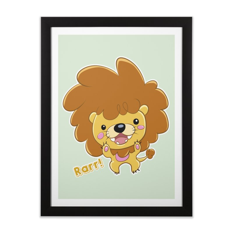 Rarr! Home Framed Fine Art Print by Sigmund Torre