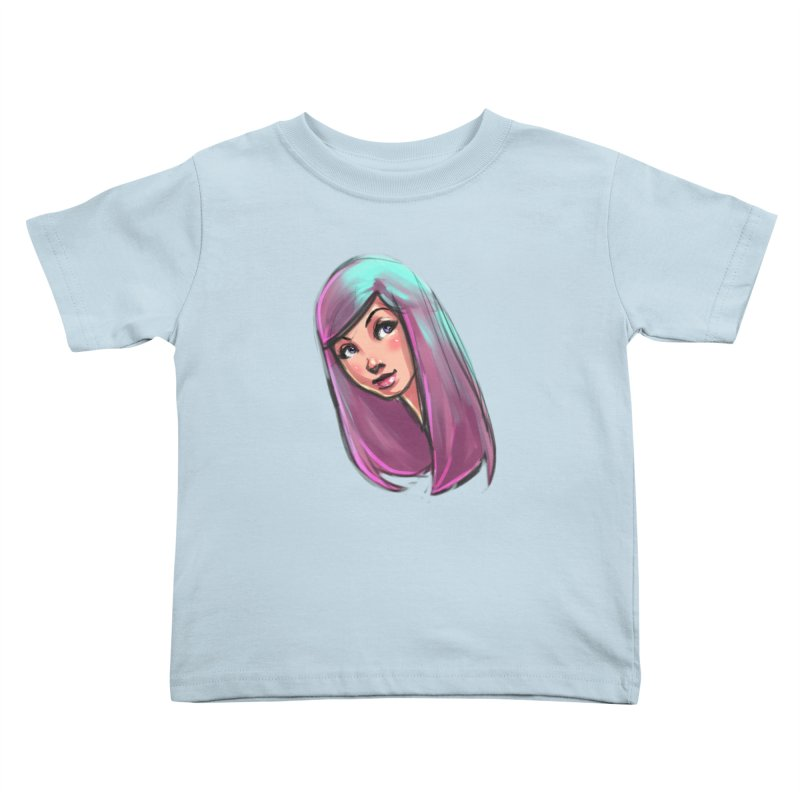 Cute Kids Toddler T-Shirt by Sigmund Torre