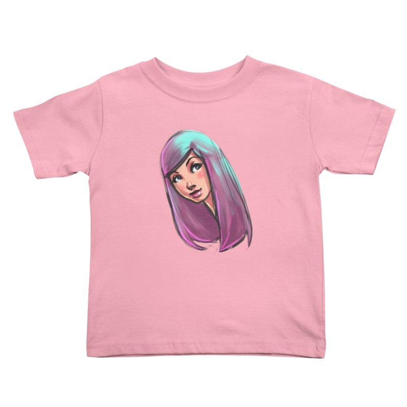 Cute Kids Toddler T-Shirt by Sigmund Torre