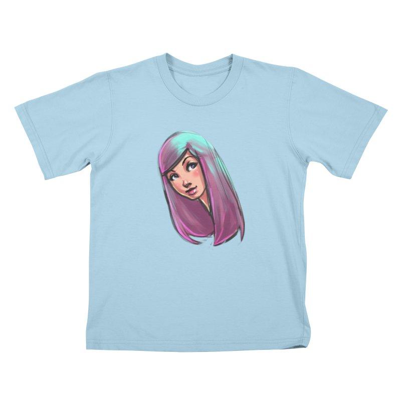 Cute Kids T-Shirt by Sigmund Torre