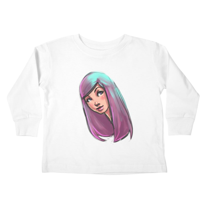 Cute Kids Toddler Longsleeve T-Shirt by Sigmund Torre
