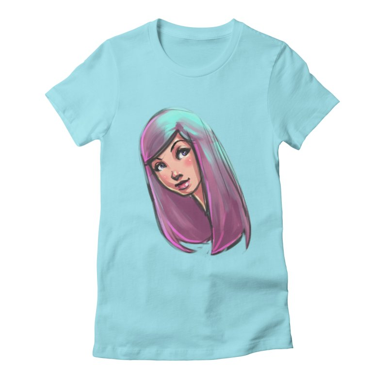 Cute Women's Fitted T-Shirt by Sigmund Torre