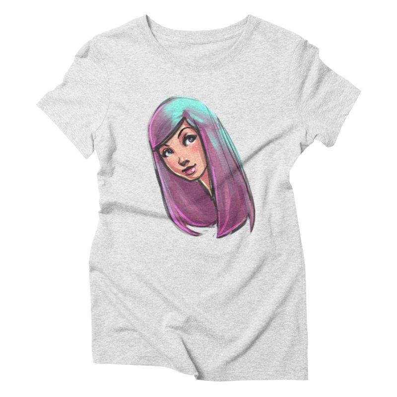 Cute Women's Triblend T-Shirt by Sigmund Torre