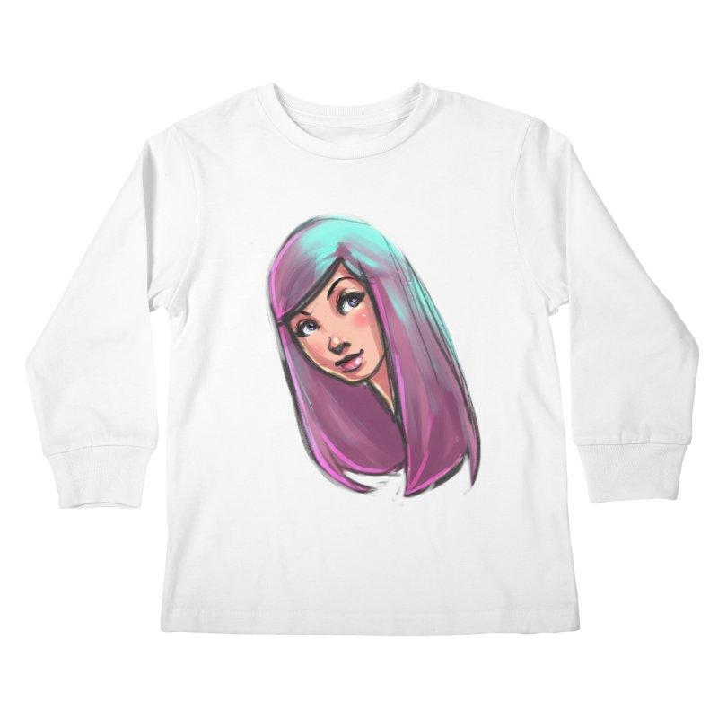 Cute Kids Longsleeve T-Shirt by Sigmund Torre
