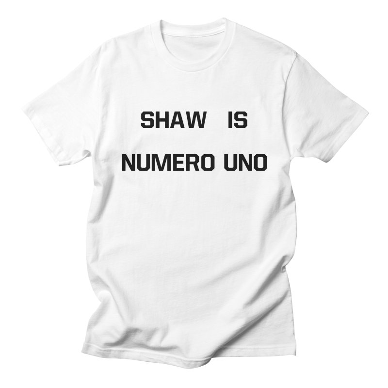 uno Men's Regular T-Shirt by Sigmund Torre
