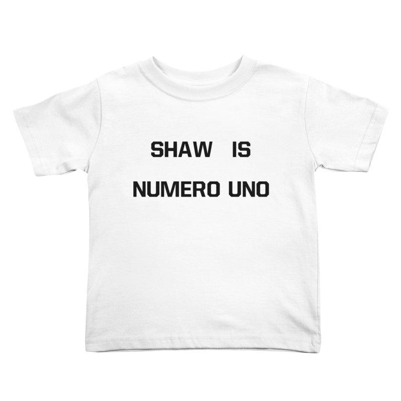 uno Kids Toddler T-Shirt by Sigmund Torre