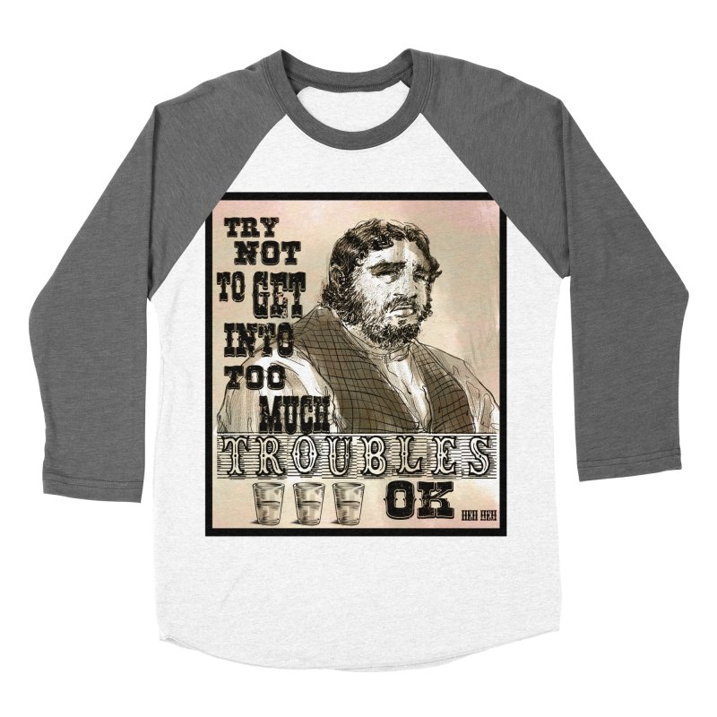 """It's Like Beer"" Men's Baseball Triblend T-Shirt by Sigmund Torre"