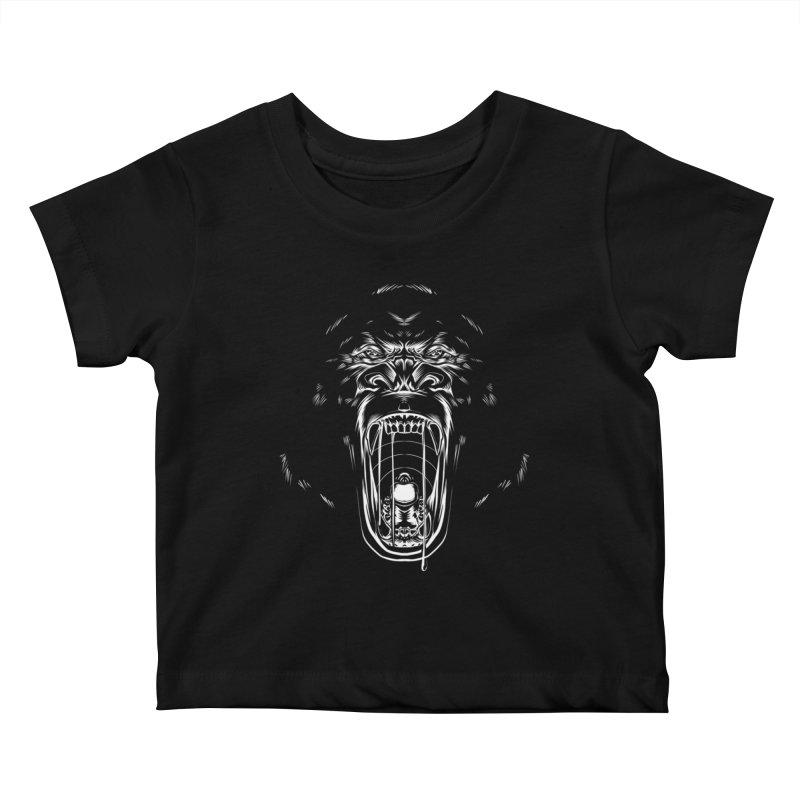 Gorilla Kids Baby T-Shirt by Sigmund Torre
