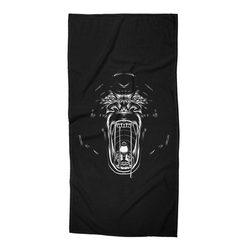 Gorilla Accessories Beach Towel by Sigmund Torre