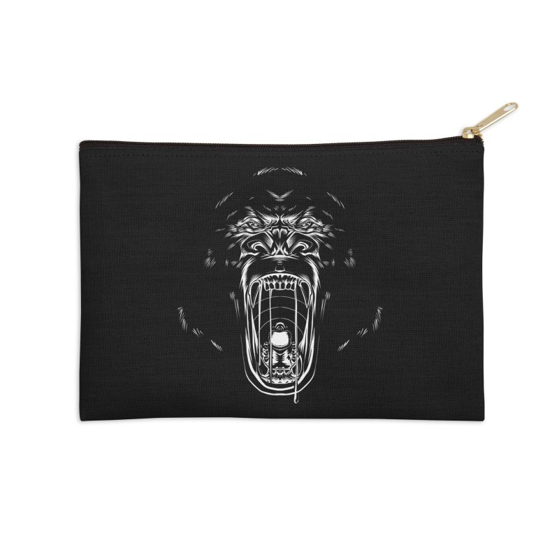 Gorilla Accessories Zip Pouch by Sigmund Torre