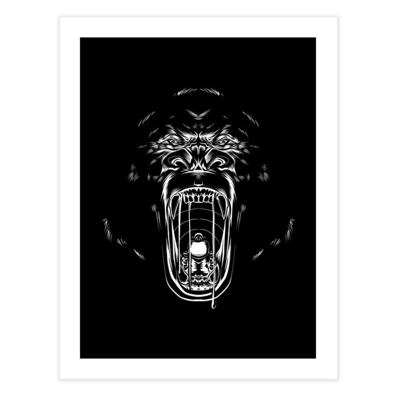 Gorilla Home Fine Art Print by Sigmund Torre