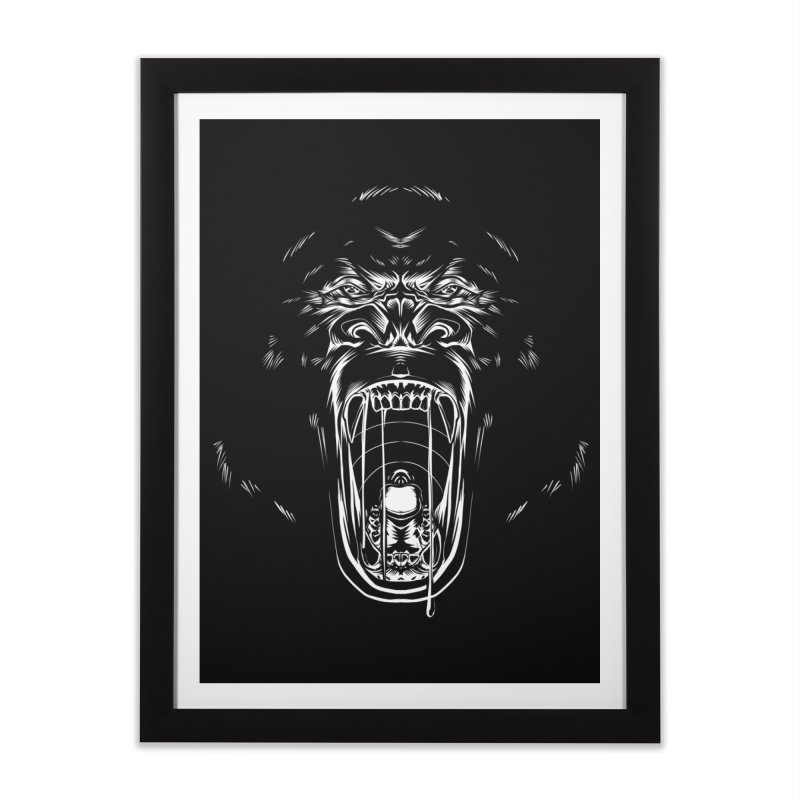Gorilla Home Framed Fine Art Print by Sigmund Torre