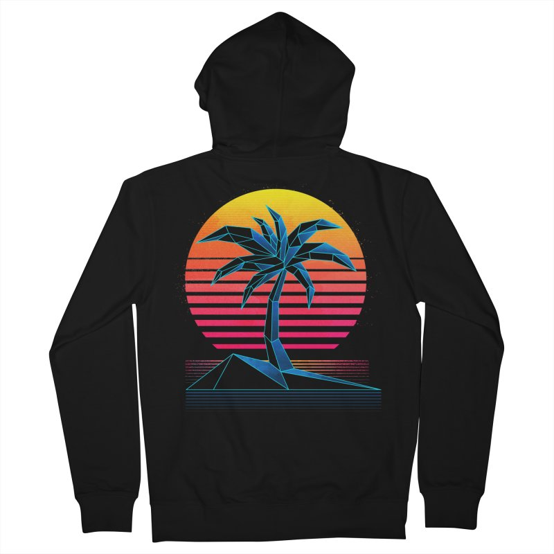 Digital Paradise Men's Zip-Up Hoody by Signalnoise Threadless Store