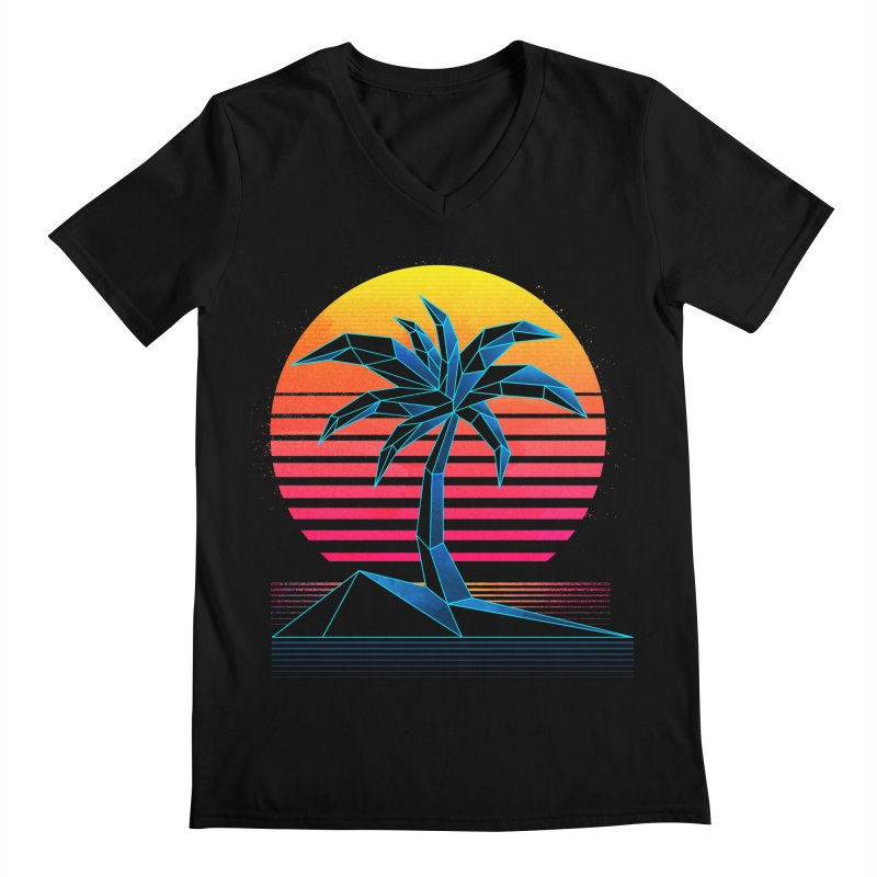 Digital Paradise Men's V-Neck by Signalnoise Threadless Store