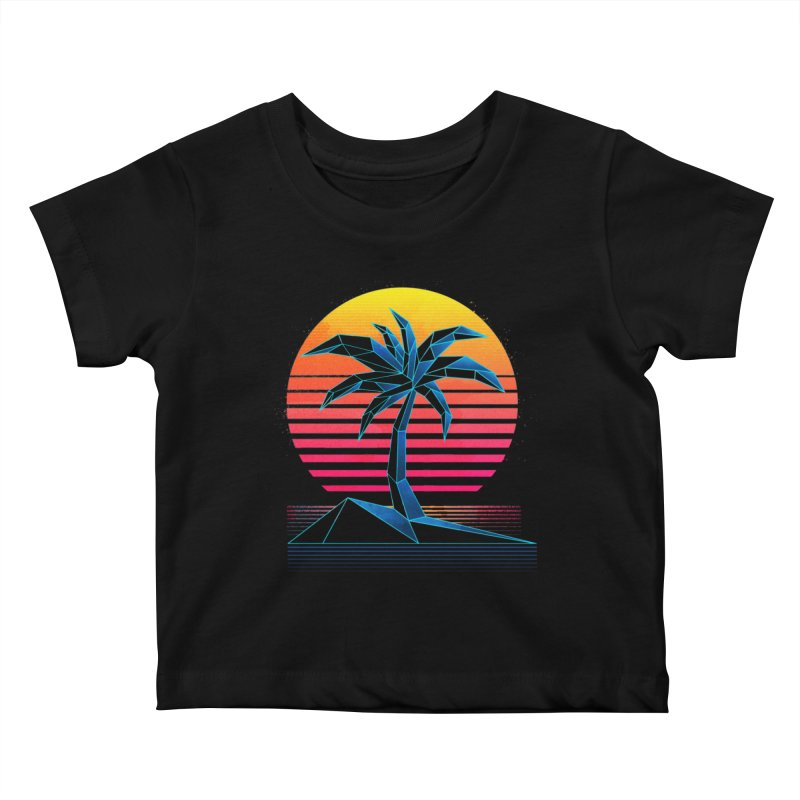 Digital Paradise Kids Baby T-Shirt by Signalnoise Threadless Store