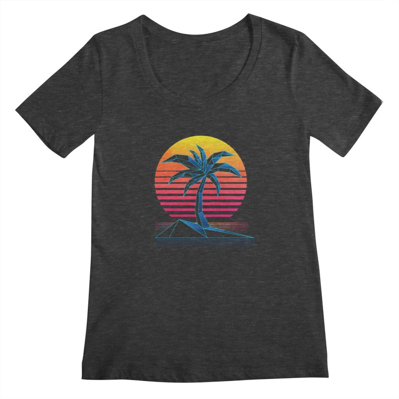 Digital Paradise Women's Scoopneck by Signalnoise Threadless Store