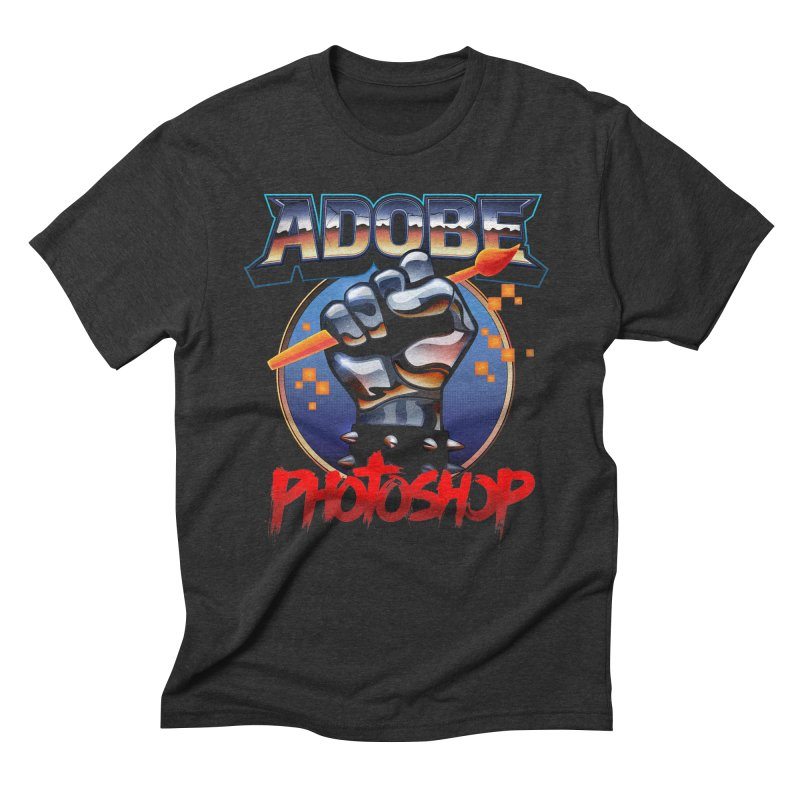 Heavy Metal Photoshop Men's T-Shirt by Signalnoise Threadless Store