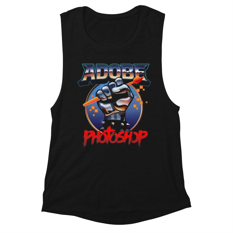 Heavy Metal Photoshop Women's Tank by Signalnoise Threadless Store