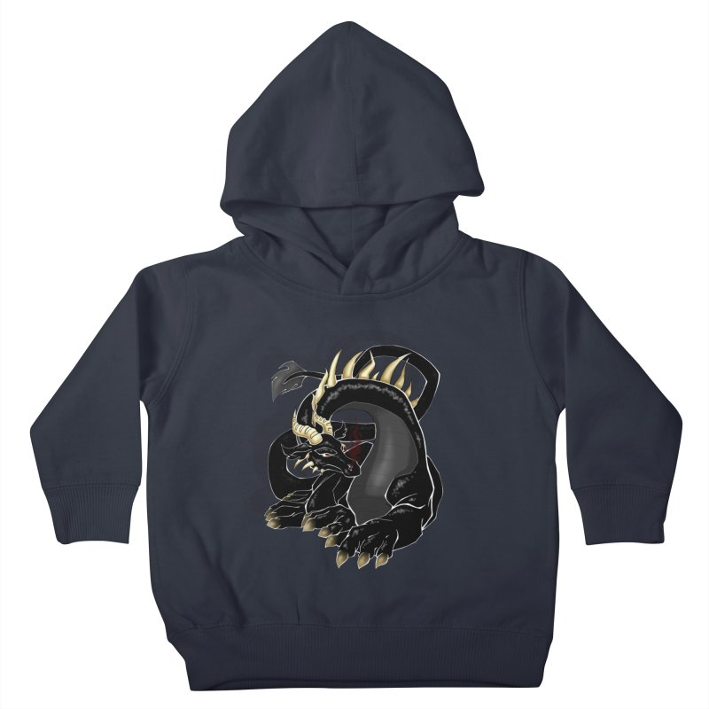 Dragon Kids Toddler Pullover Hoody by Patterns and Critters