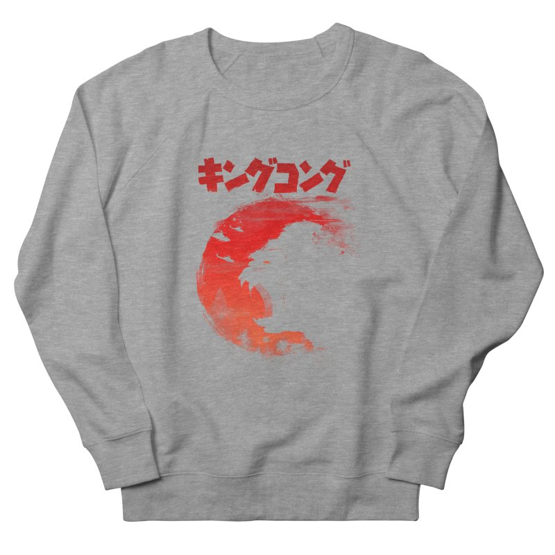The King Women's French Terry Sweatshirt by silenTOP Artist Shop