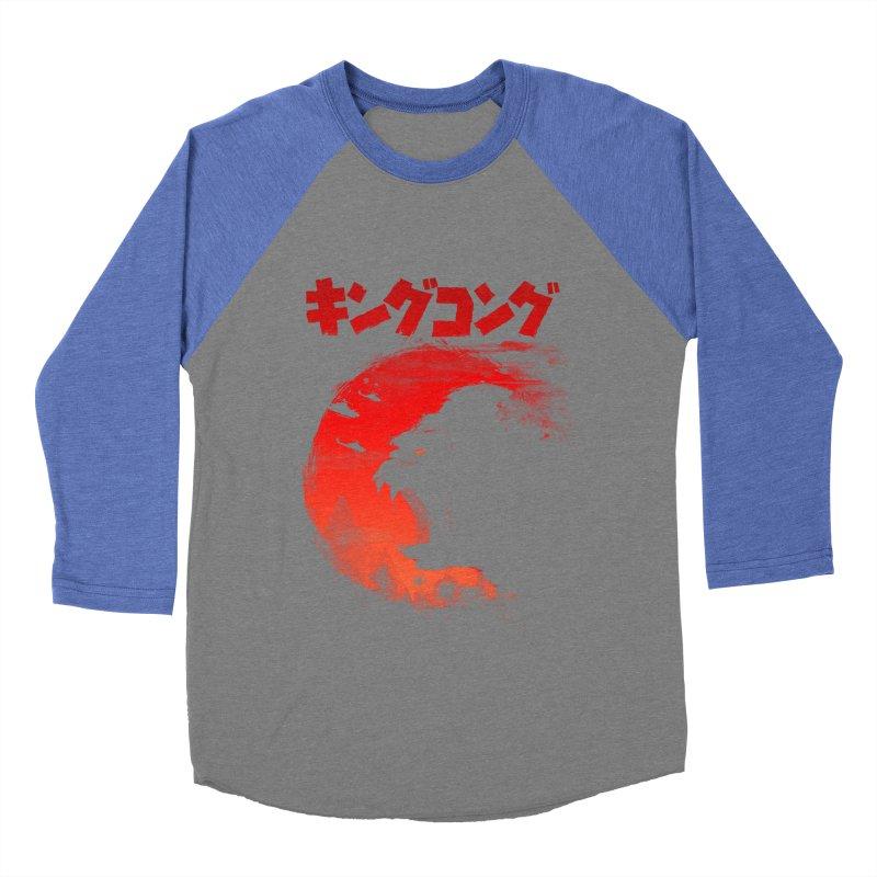 The King Women's Baseball Triblend T-Shirt by silenTOP Artist Shop