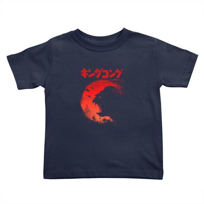 The King Kids Toddler T-Shirt by silentOp's Artist Shop