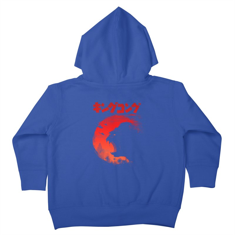 The King Kids Toddler Zip-Up Hoody by silentOp's Artist Shop