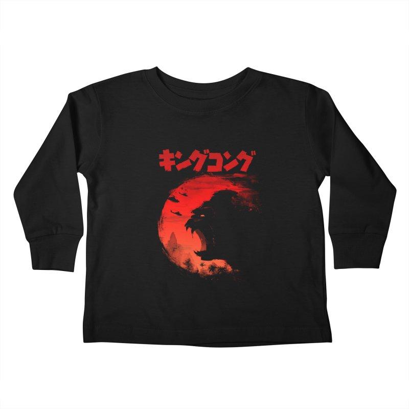 The King Kids Toddler Longsleeve T-Shirt by silenTOP Artist Shop