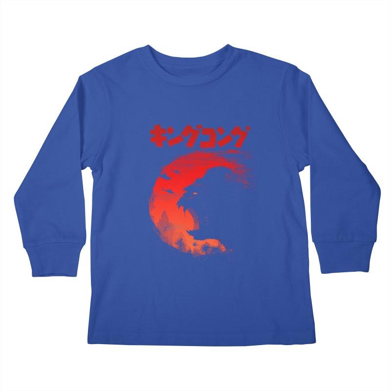 The King Kids Longsleeve T-Shirt by silenTOP Artist Shop