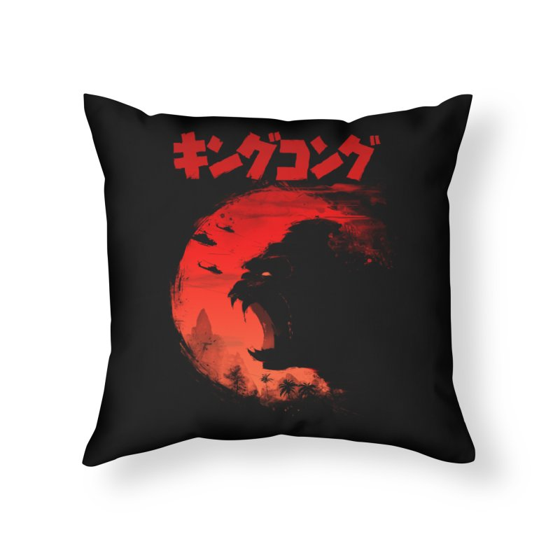 The King Home Throw Pillow by silenTOP Artist Shop