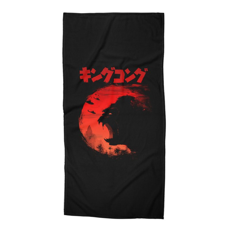 The King Accessories Beach Towel by silentOp's Artist Shop