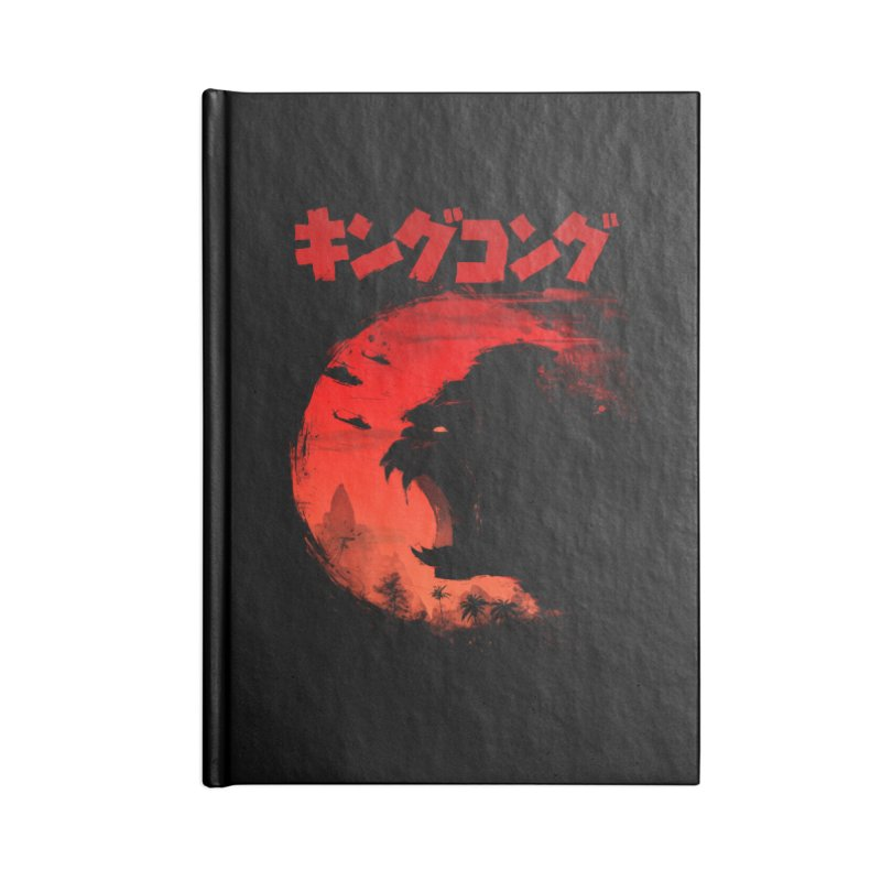 The King Accessories Notebook by silenTOP Artist Shop