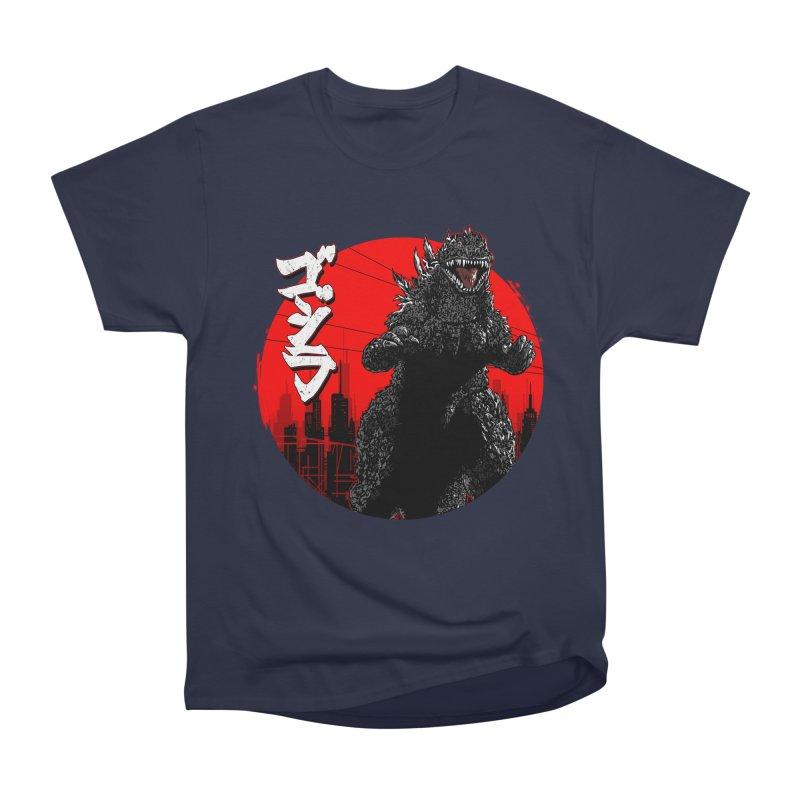 GOJIRA KANJI Men's Heavyweight T-Shirt by silenTOP Artist Shop