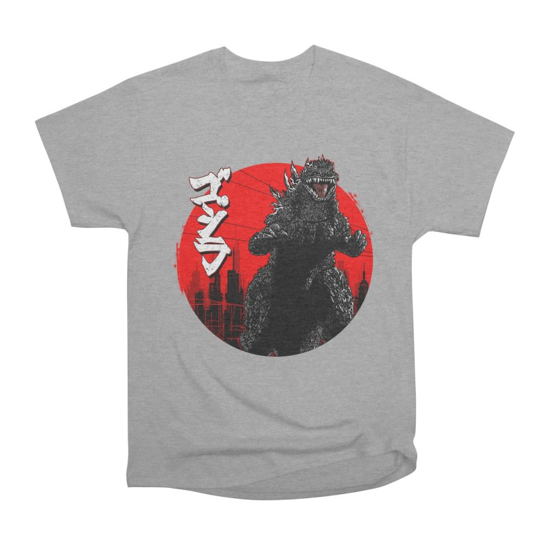 GOJIRA KANJI Women's Heavyweight Unisex T-Shirt by silenTOP Artist Shop