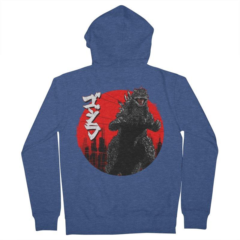 GOJIRA KANJI Men's Zip-Up Hoody by silenTOP Artist Shop