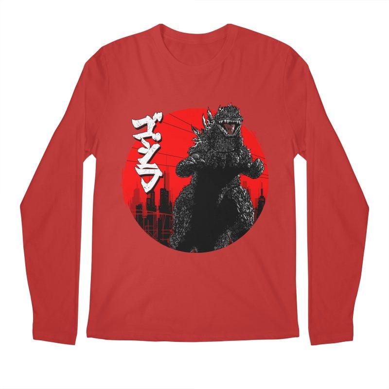 GOJIRA KANJI Men's Longsleeve T-Shirt by silenTOP Artist Shop