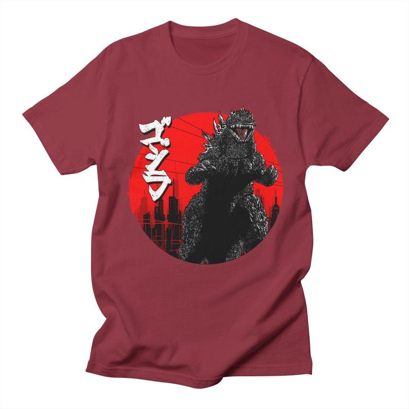 GOJIRA KANJI Men's T-Shirt by silenTOP Artist Shop