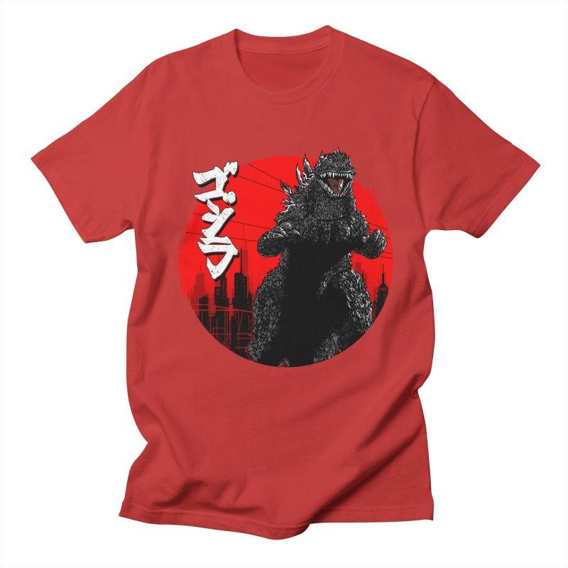 GOJIRA KANJI Women's Unisex T-Shirt by silenTOP Artist Shop