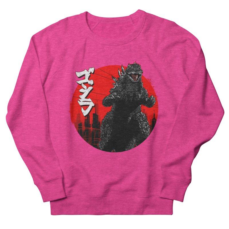 GOJIRA KANJI Women's French Terry Sweatshirt by silenTOP Artist Shop
