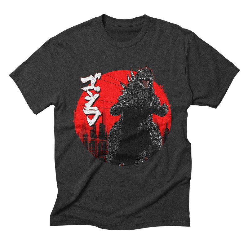 GOJIRA KANJI Men's Triblend T-Shirt by silenTOP Artist Shop