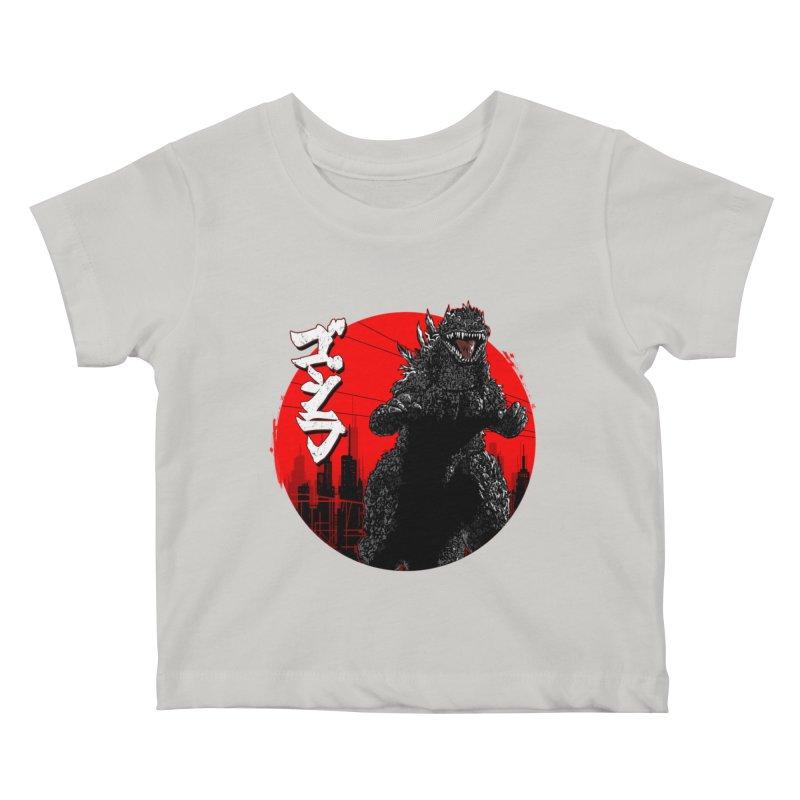 GOJIRA KANJI Kids Baby T-Shirt by silenTOP Artist Shop