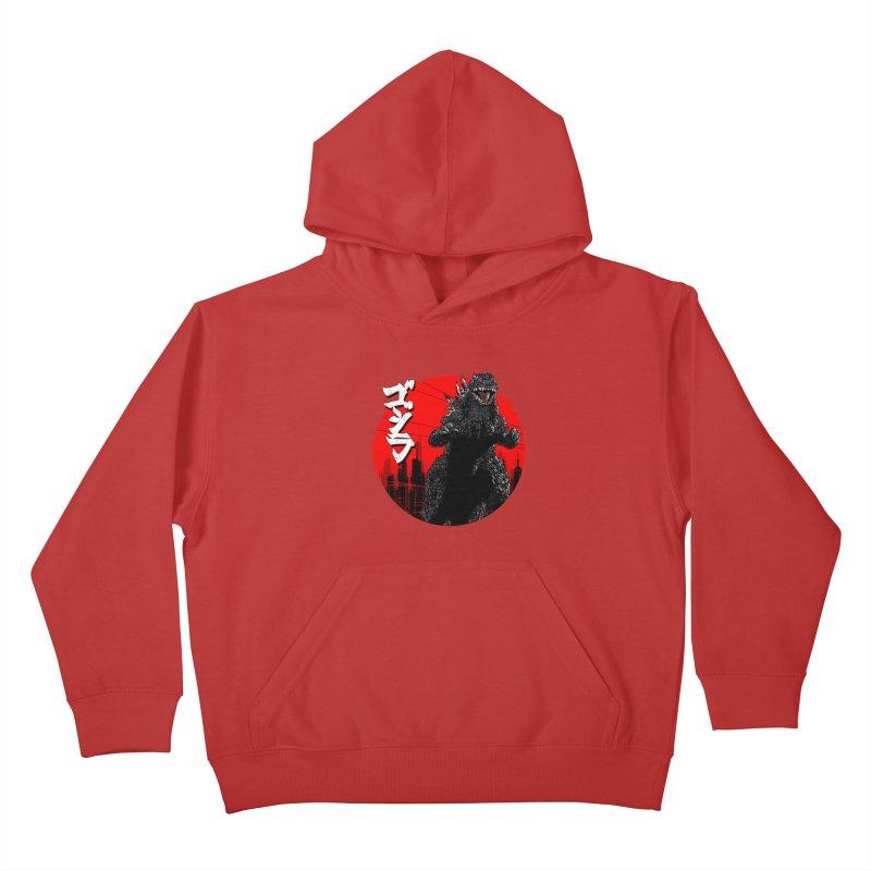 GOJIRA KANJI Kids Pullover Hoody by silenTOP Artist Shop