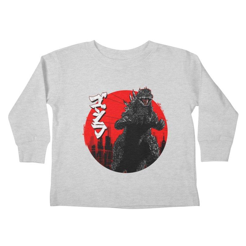 GOJIRA KANJI Kids Toddler Longsleeve T-Shirt by silenTOP Artist Shop