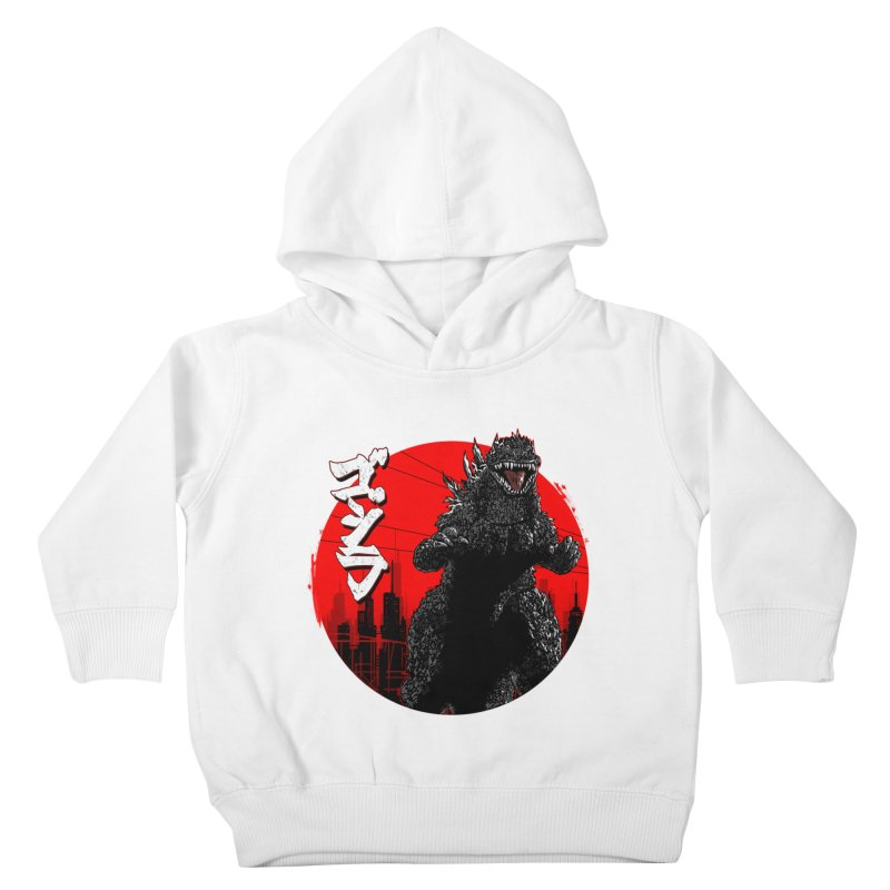 GOJIRA KANJI Kids Toddler Pullover Hoody by silenTOP Artist Shop