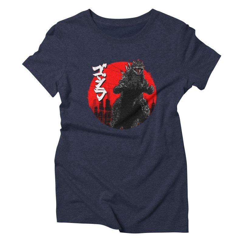 GOJIRA KANJI Women's Triblend T-Shirt by silenTOP Artist Shop