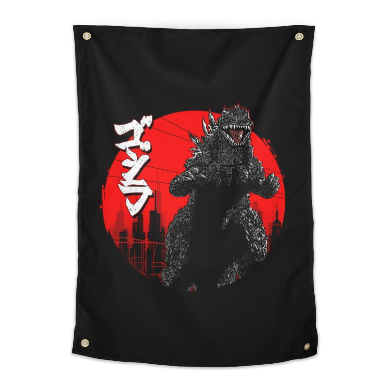 GOJIRA KANJI Home Tapestry by silenTOP Artist Shop